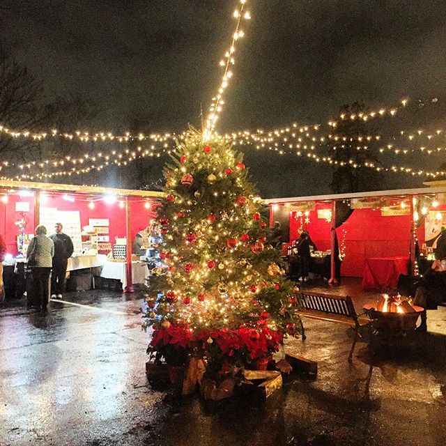 At the European Christmas Market 🎄 @flamantannapolis