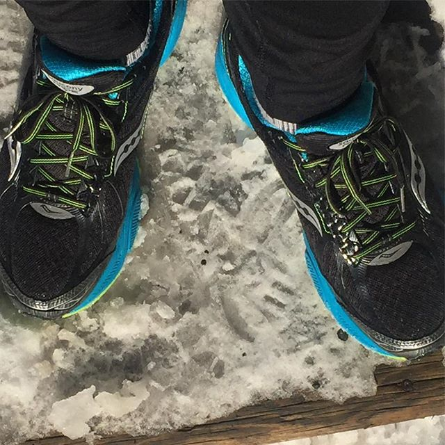 After a couple times out in the elements, I'm loving my #Saucony GTX