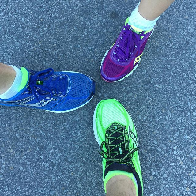 Ready for the #Ottawa 10K! #Saucony