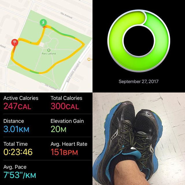 Quick run while Nico fences.  Chunky vs Runner rating on the next podcast episode.