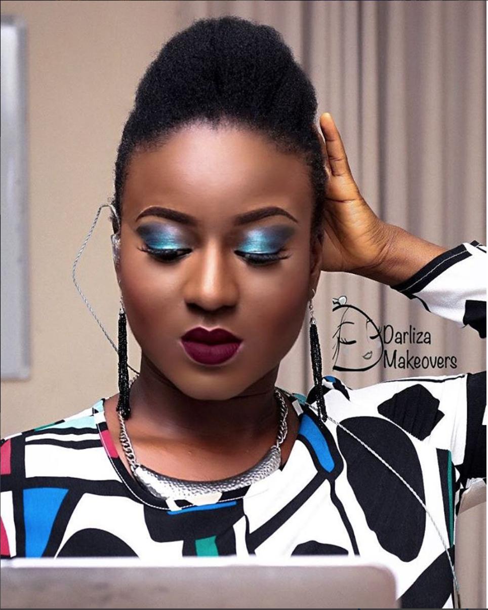 Face beat by Darliza Makeovers. Album leak Lagos, Nigeria. Oct. 30th 2016