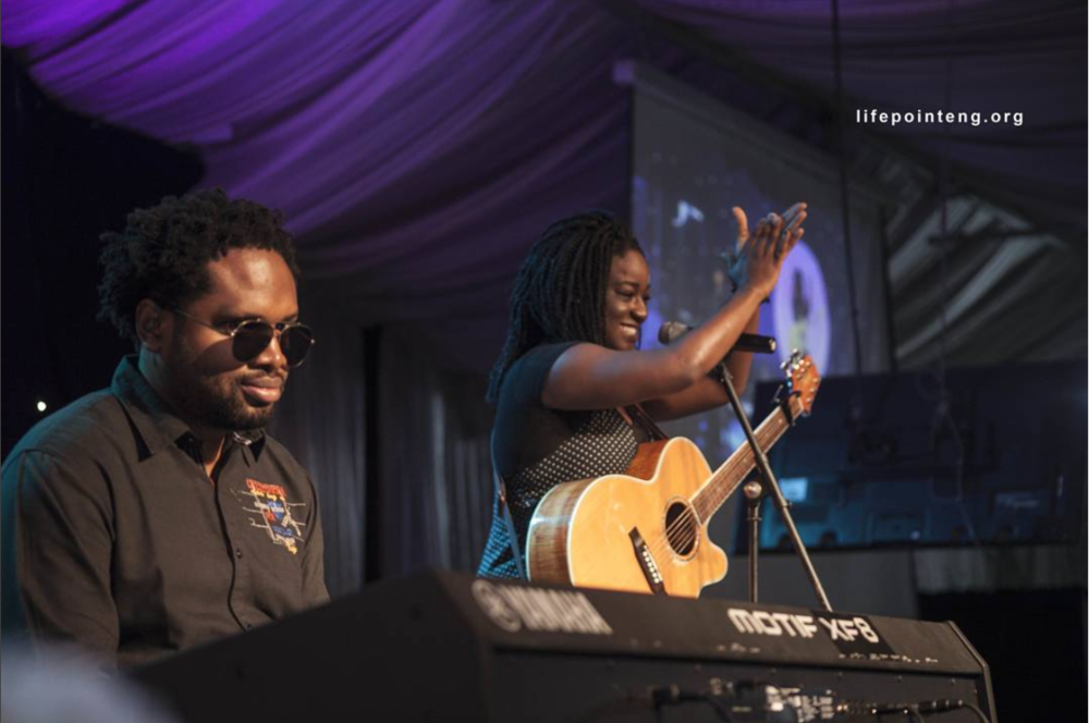 Always an honor with Cobhams Asuquo at lifepointe NG. Oct. 12th