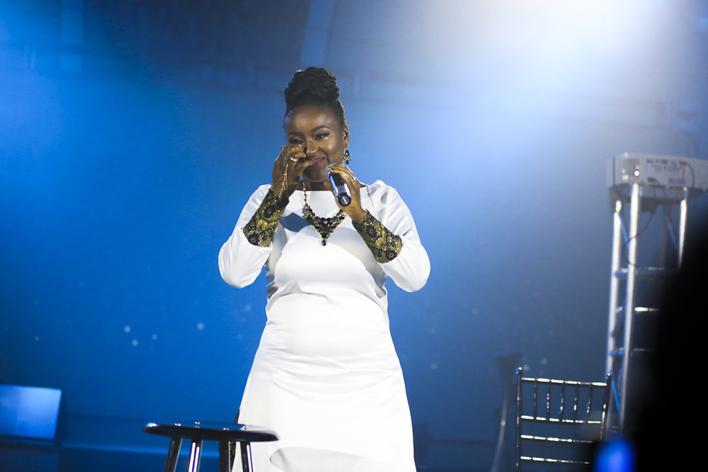 """Emotional moment at """"Said and Done"""" Album release Concert, Houston TX. Jan 22nd 2017"""