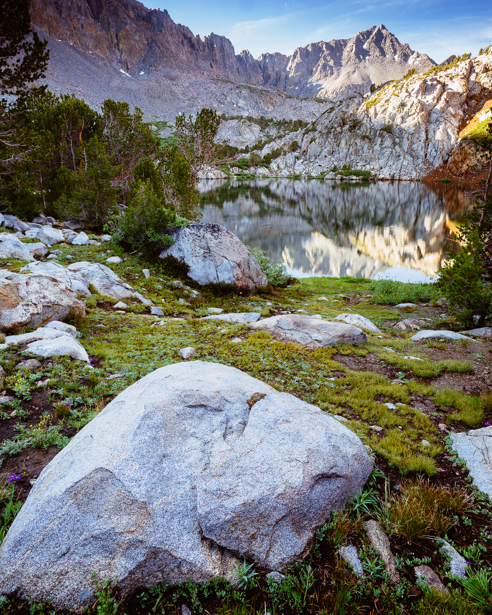 Kings Canyon National Park Backcountry, California, USA