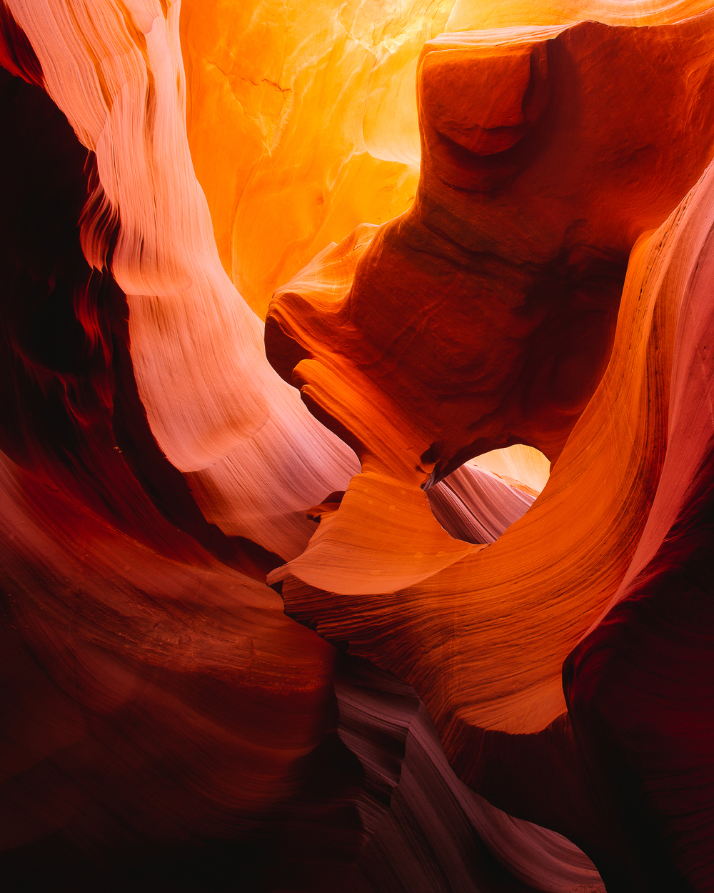 Navajo Indian Tribal Reservation, Slot Canyons, Arizona, USA