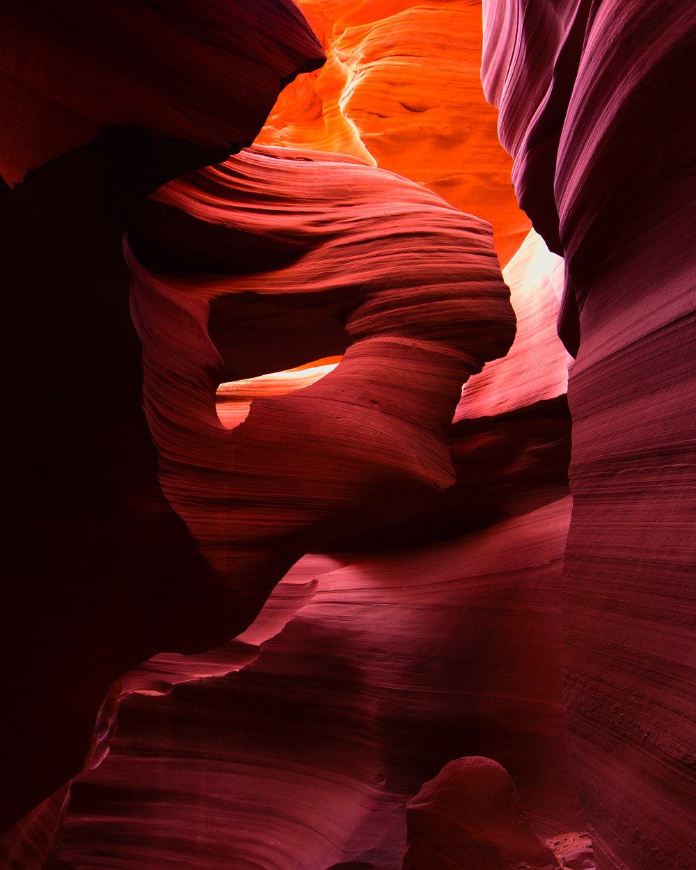 Navajo Indian Tribal Reservation,     Slot Canyons,     Arizona,     USA