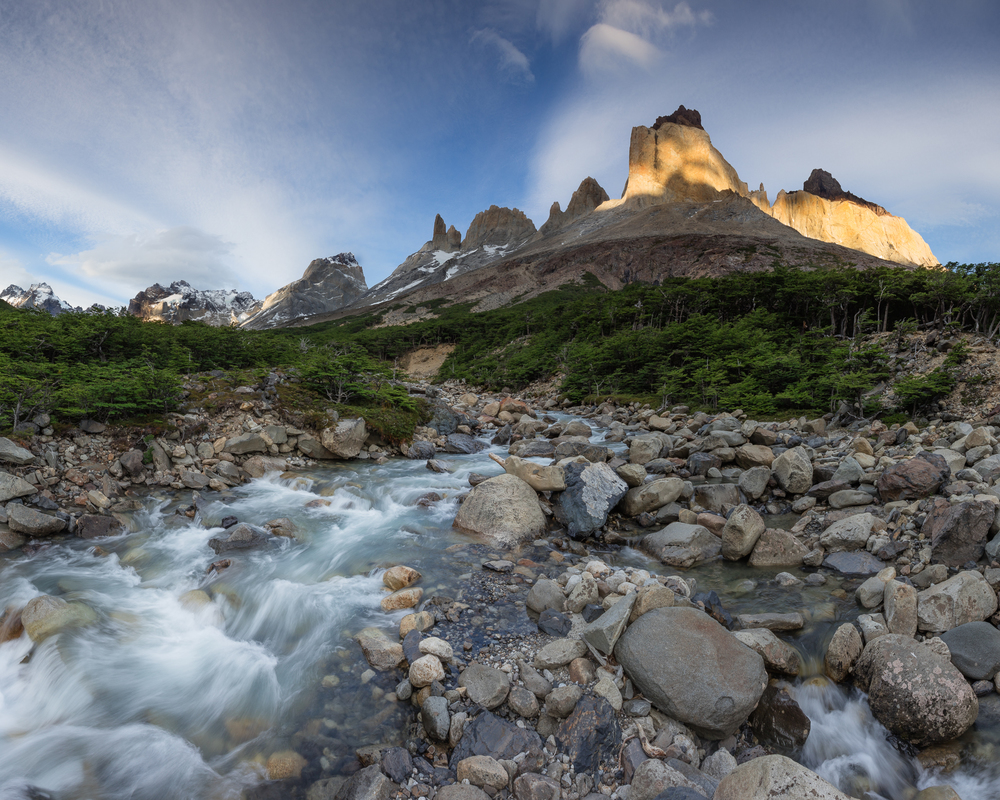 French Valley Hike, Torres Del Paine National Park, Patagonia, Chile