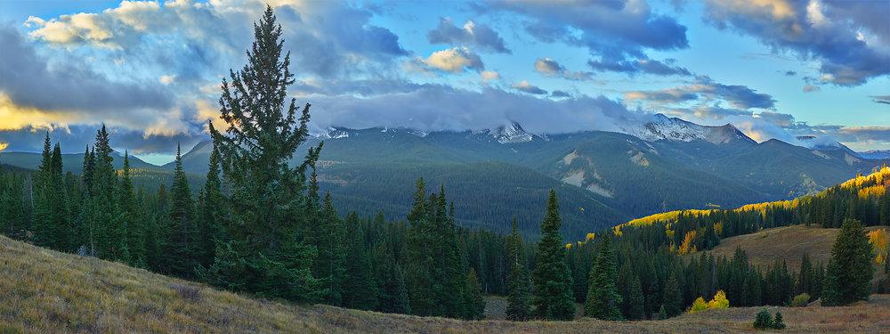 The Gunnison National Forest, Colorado, USA