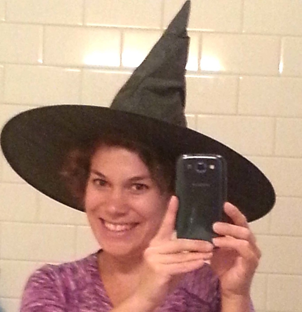 My boring Halloween choice. Lost my brilliant idea again!