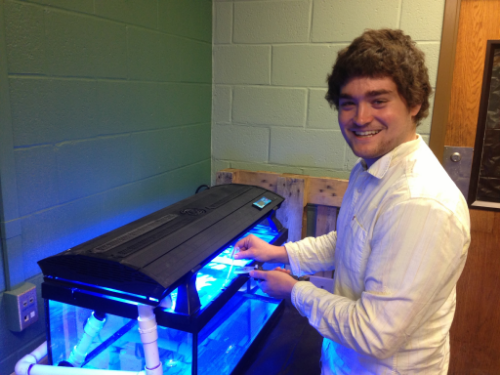 Andrew Cecere     (2011-2013) Aquarium Expert and Lab Assistant            B.S. Environmental Resource Management     Current position: Research Technologist  Miyashiro Lab