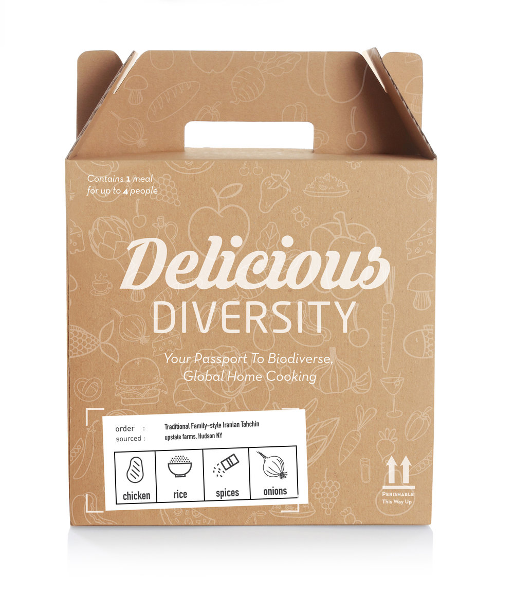 Delicious Diversity    Delicious Diversity takes you on a culinary adventure the whole family can enjoy -- without leaving the comfort of home. Our pre-portioned meal kits feature the freshest, seasonally-grown biodiverse foods that you know and love, as well as exciting international ingredients that you have yet to discover.