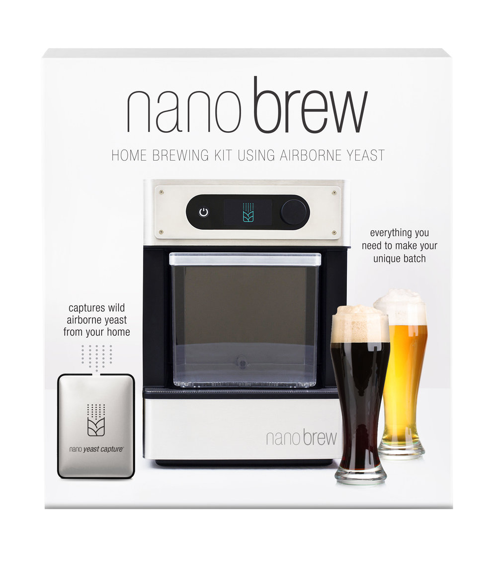 NanoBrew    Nanobrew is your key to a truly distinctive beer. Our home brewing kits use the wild, airborne yeast around you to brew beer that reflects your terroir. That means your beer will taste totally different than your friend who lives across town.