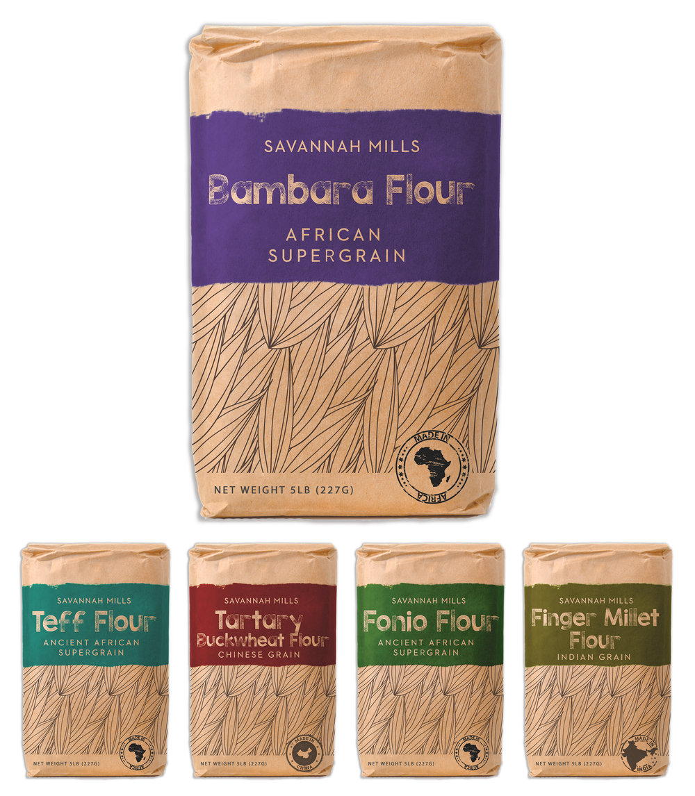 Savannah Mills    Savannah Mills brings you the best flour that Africa and Asia has to offer. Our line of flours from abroad are helping the world broaden its horizons and tap into the multitude of species and flavors of legumes, grasses, and grains that make for wonderful flours.