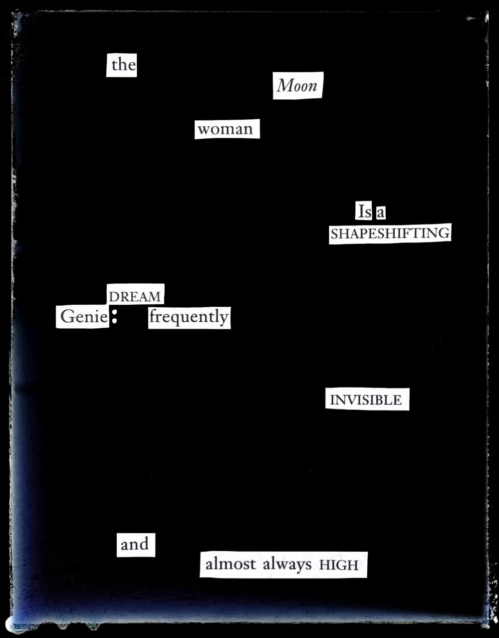 The Moon Woman ,Divyam Bernstein, 2016