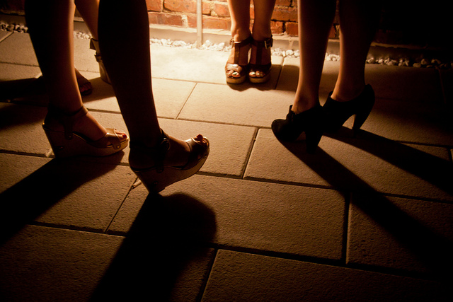 image above:  Women's Shoes at the Ides - Wythe Hotel Rooftop - Brooklyn, NYC , Chris Goldberg, flickr