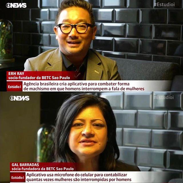 #womaninterrupted #womaninterruptedapp - saímos tbm na Globo News!