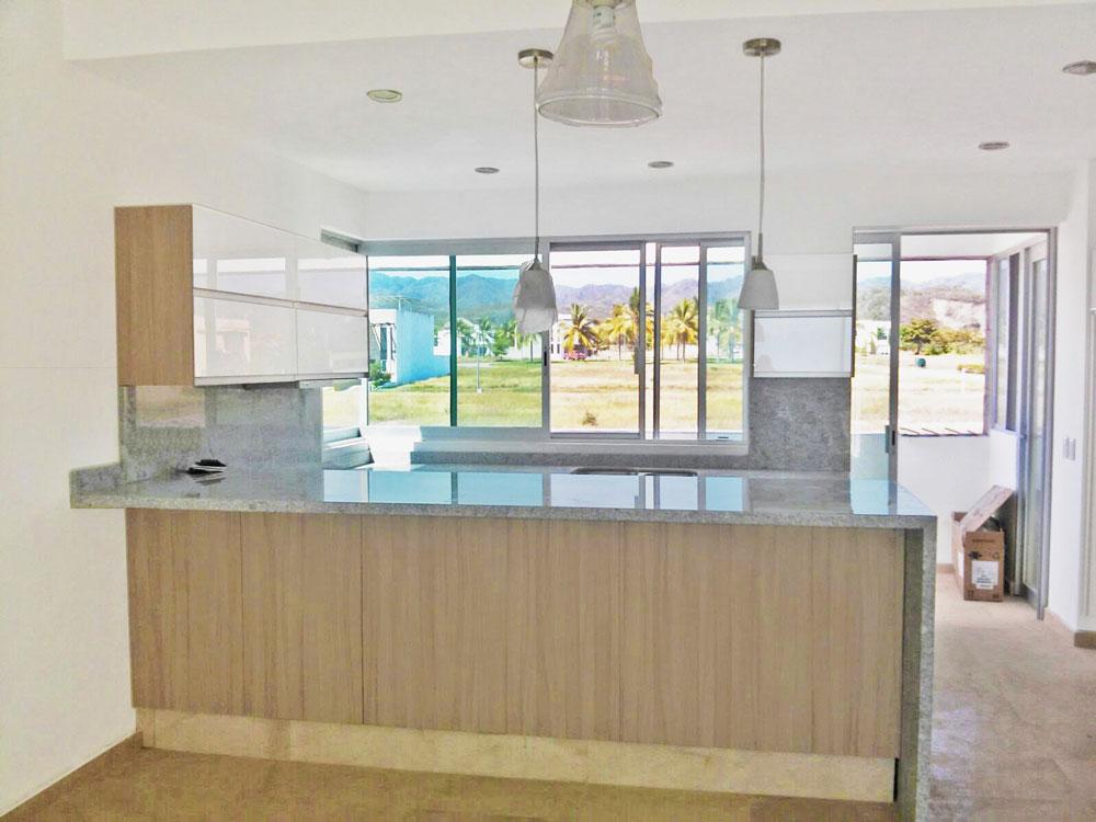 Proyectos cocinas integrales en guadalajara kitchen for Granito gris cristal