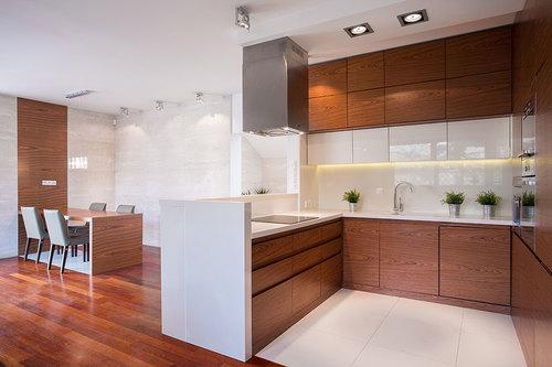 Cocinas pequeas cocinas integrales en guadalajara kitchen depot pequeo espacio con desayunador moderno altavistaventures Images
