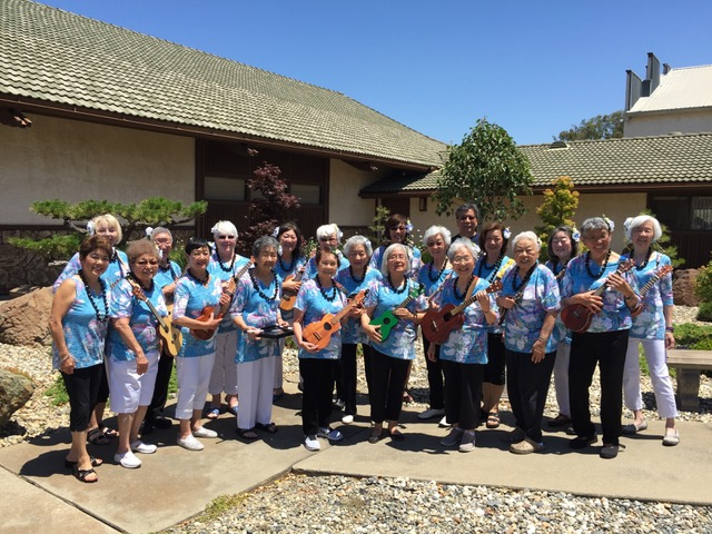 Hi Sherri, Just wanted to thank you again for generously helping us outfit our Sacramento Buddhist Women's Association ukelele group——The Ukettes. Yesterday, we performed at a Sr. Luncheon at another church, and got many compliments for our songs and attire.  Everytime we wear our Sherri shirts, it's a great addition for finishing off our performance look.   Mahalo & Aloha from all the ladies (and our guitarist, Gary) Joan