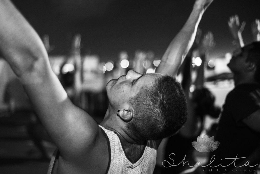 By the way my first yoga class was great, I felt the Caribbean breeze run through my body. Awesome experience. Yoga for Martial Arts: I am already in. - Josué Koljaiczek, competing muay thai fighter for Black Wolf Fightclub,Playa del Carmen