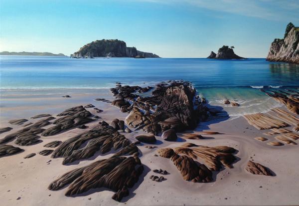 Light study series Untitled II   500mm x 500mm   Pastel on paper   2014