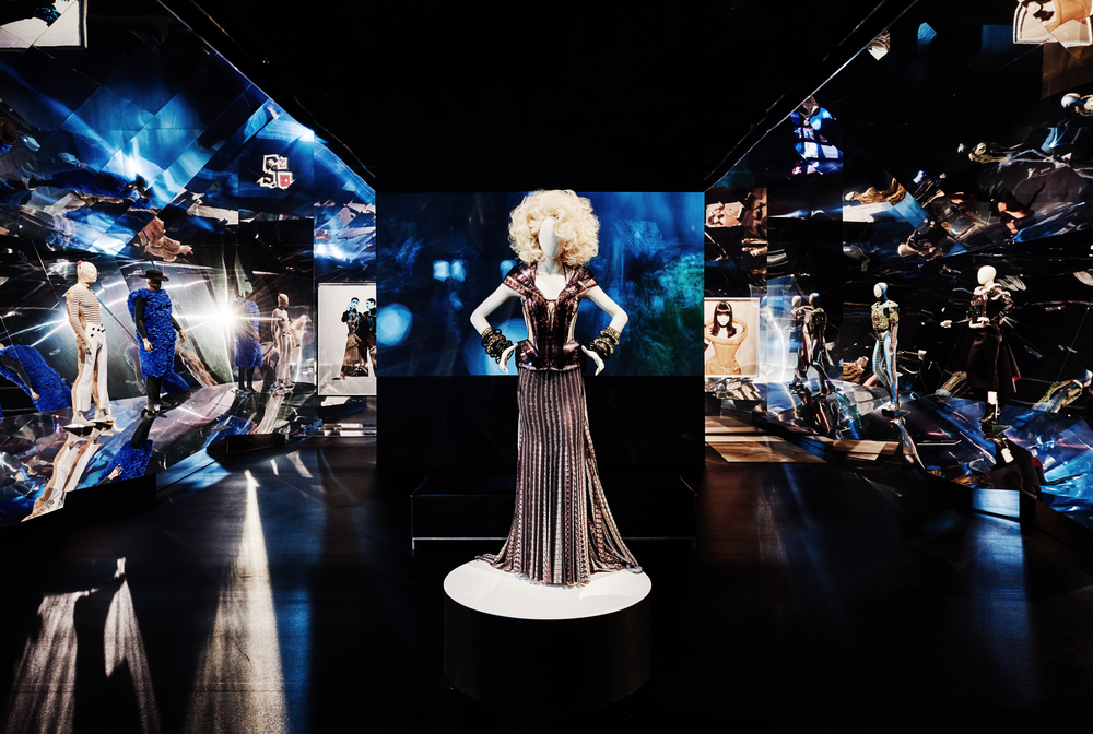 The Fashion World of Jean-Paul Gaultier: From the Sidewalk to the Catwalk // The National Gallery of Victoria // Photo: Brooke Holm