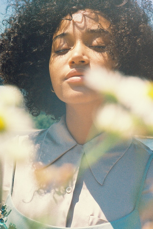 Amandla Stenberg for NYLON