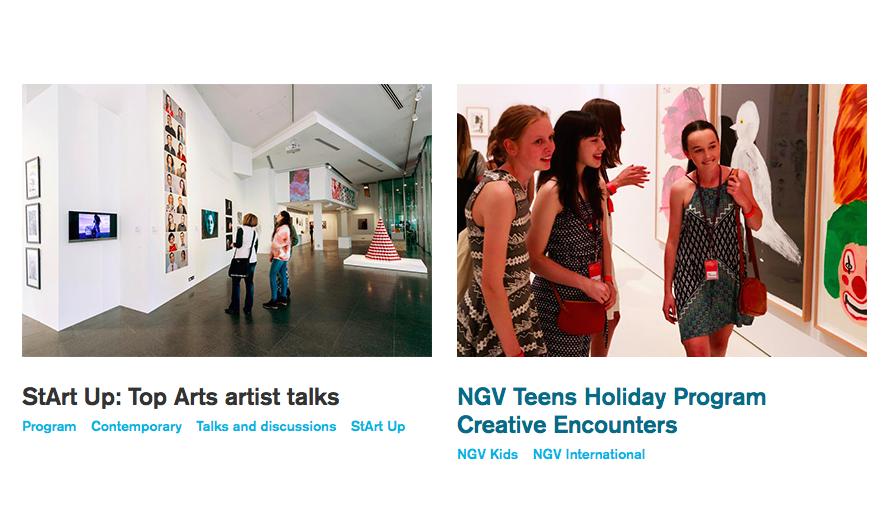 National Gallery of Victoria Teen Art Ambassador