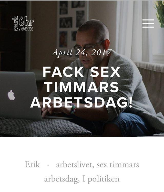 Klart med sextimmars arbetsdag aret ut