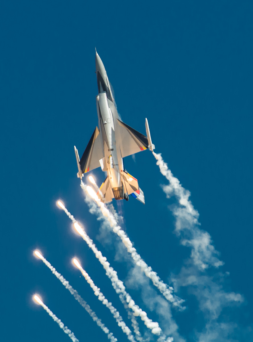 Belgium Air Component F-16 display team
