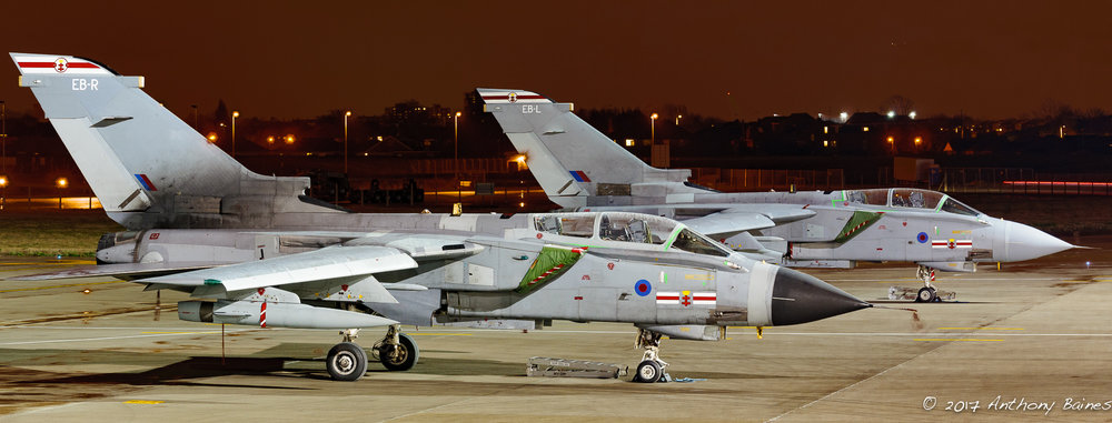 Tornado GR4s marked EB-L and EB-R. Two image stitch, processed from original Raws in Lightroom CC.