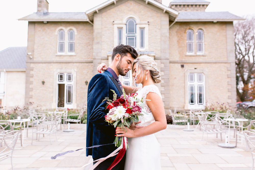 Luxe-Elegance inspired shoot at St Tewdrics House - images by Aga Hosking