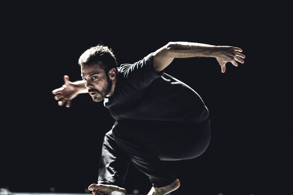Iván Pérez in Exhausting Space at Brave Festival, 2016. Photo by Mateusz Bral.