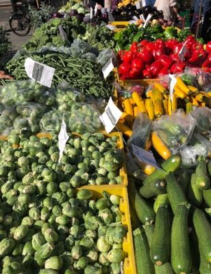 farmers market freshness
