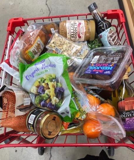 grocery shopping vegan whole30