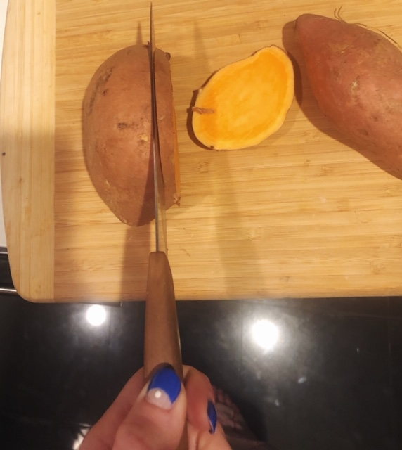 How to make sweet potato toast simple quick vegan recipe