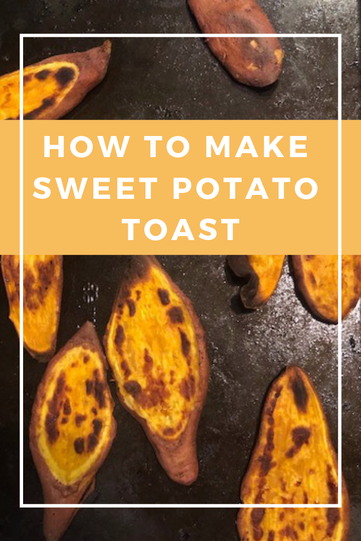 HOW TO MAKE SWEET POTATO TOAST- quick and easy breakfast or anytime snack. vegan/gluten free/paleo/whole30