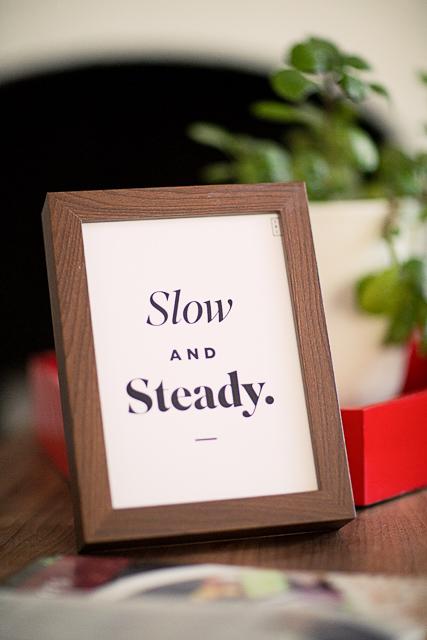 Slow and steady - Seek United
