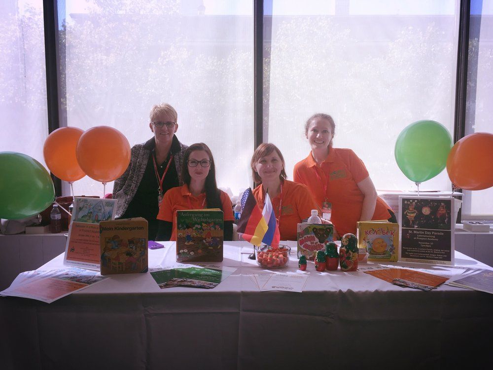 PA team at Bilingual fair, 2016