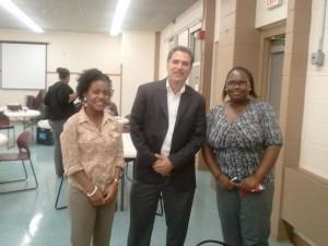 Albert Terc with Citizen Schools staff members