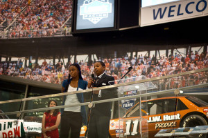 Student Speakers at the NASCAR Hall of Fame