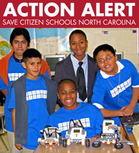 Action Alert! Save Citizen Schools in North Carolina