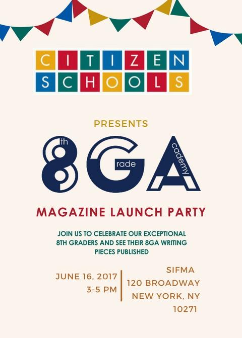 8ga magazine launch party