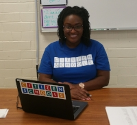 TEACHING FELLOW SPOTLIGHT: TIEYENNA MAXWELL -