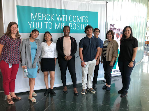 2018 Summer High School Intern Cohort at Merck & Co Career Exploration