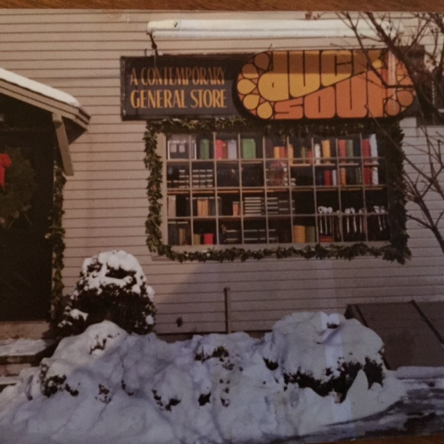 Here's the original 1971 storefront with the award-winning logo designed by Ralph Caputo.