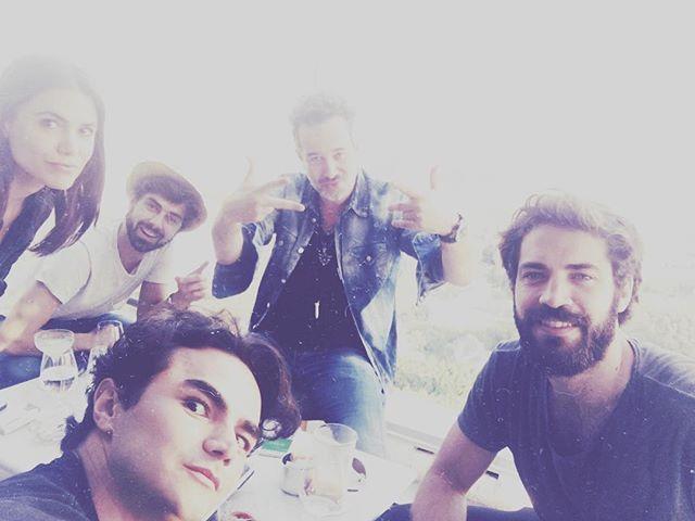 Hollywood squad! 🤘