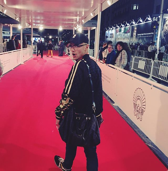 Casual red carpet @sansebastianfes