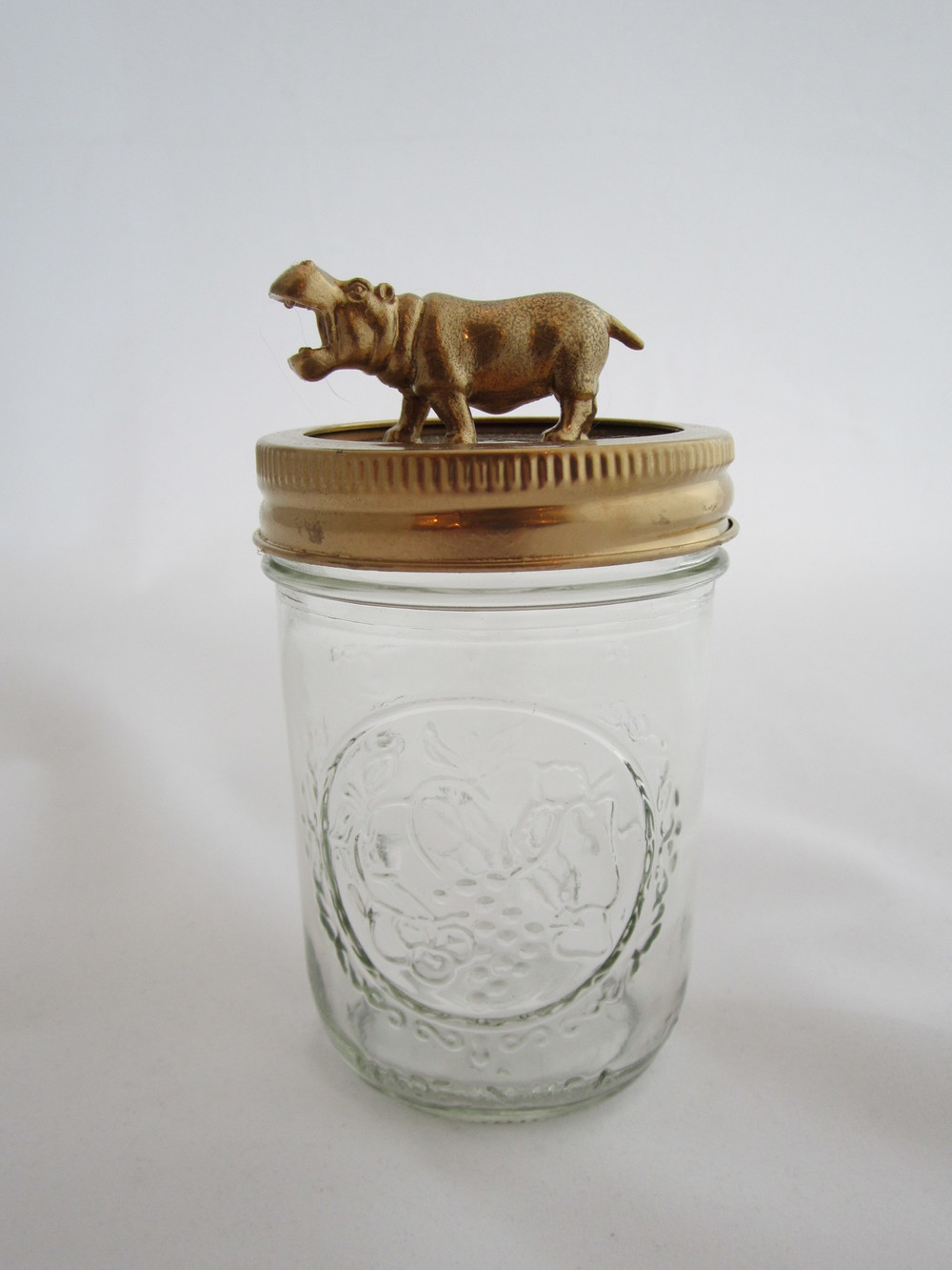 2nd Gold Hippo Jar 1.JPG