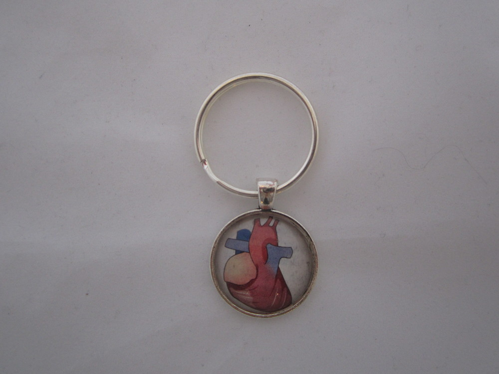 Heart Illustration Keychain 1.JPG